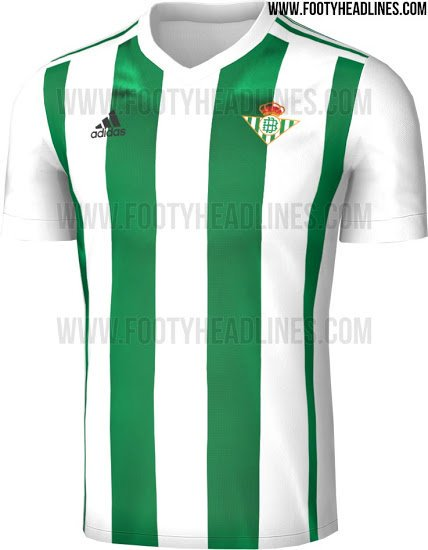 2017-18 Real Betis home kit