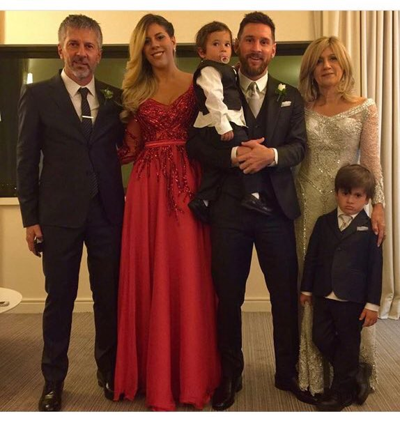 The Messi family