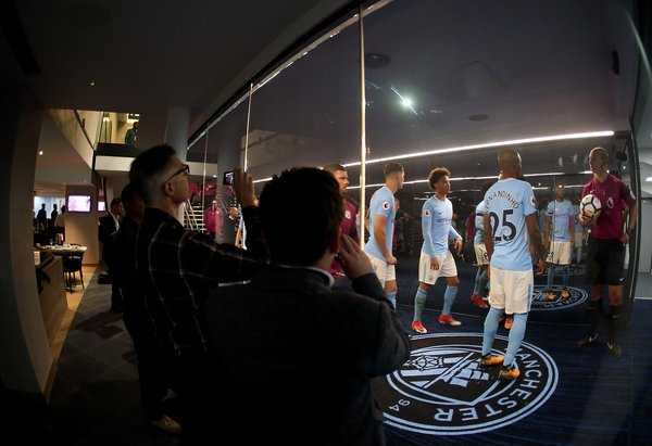 Manchester City's Tunnel Club