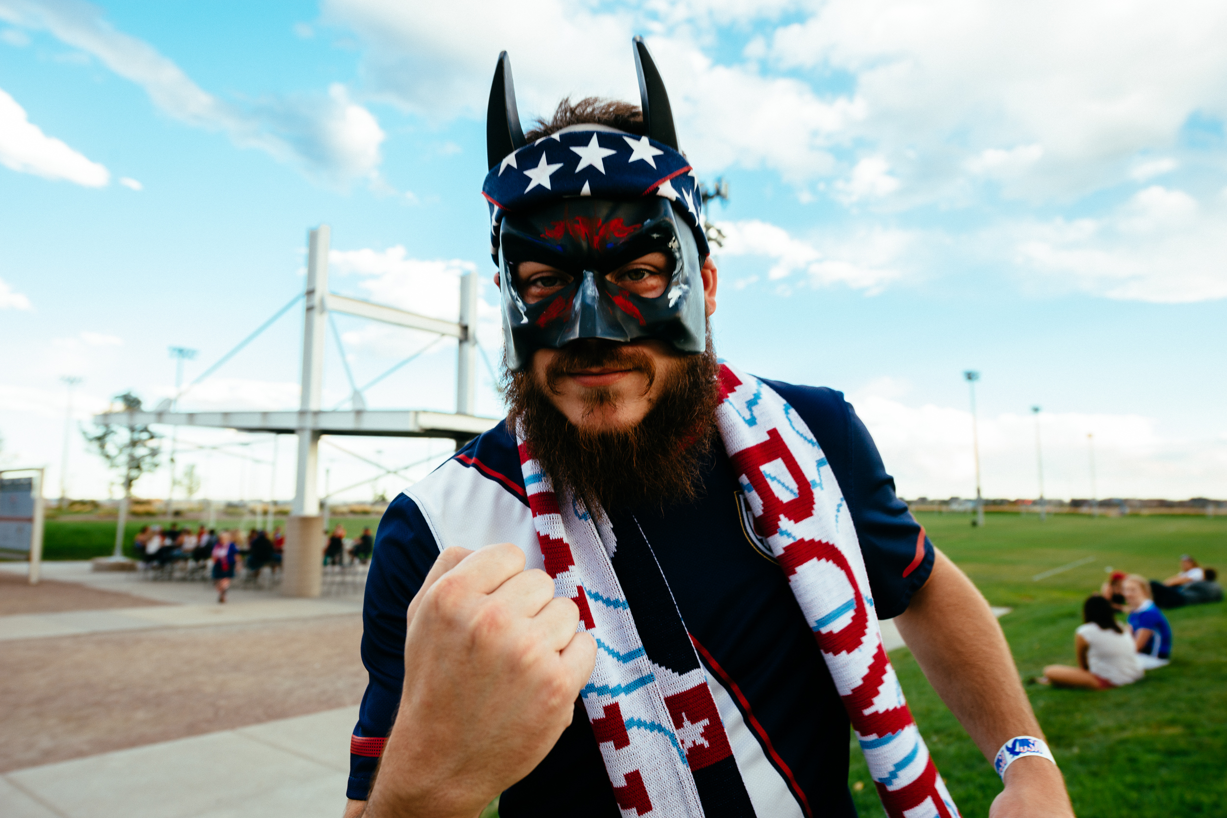 Bearded Batman Supports US WNT