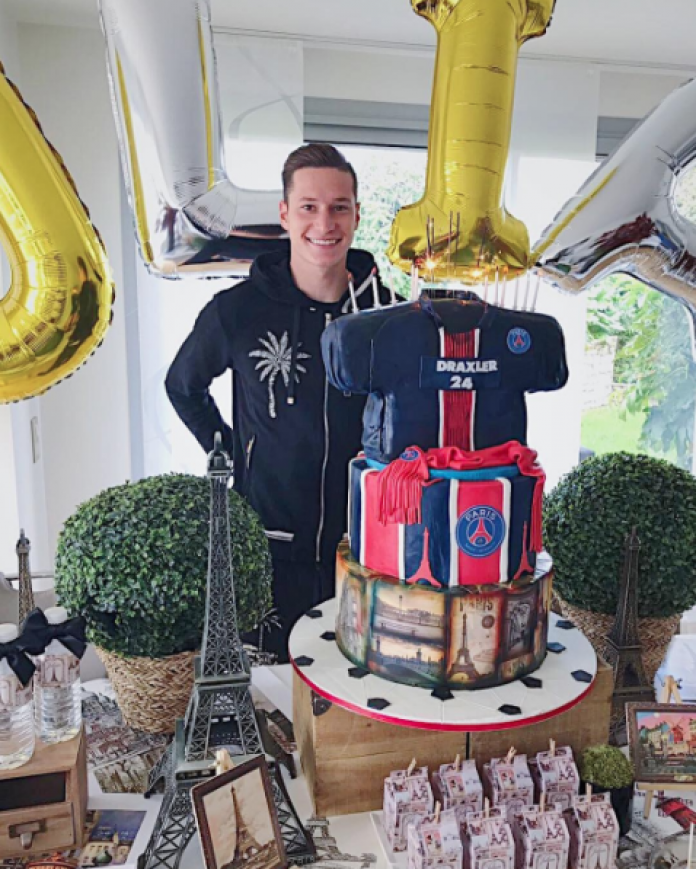 This Julian Draxler Birthday Cake Is Bigger Than Neymar S Ego