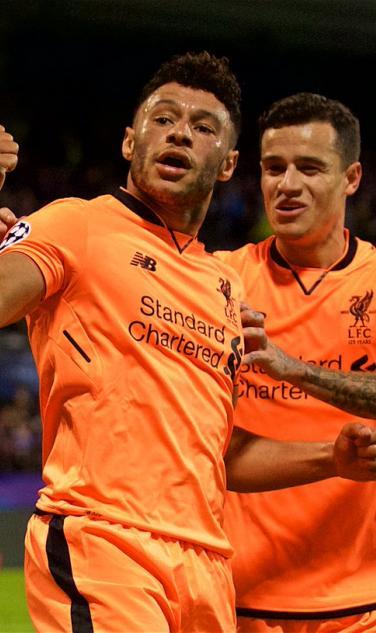 Alex Oxlaide Chamberlain First Liverpool Goal