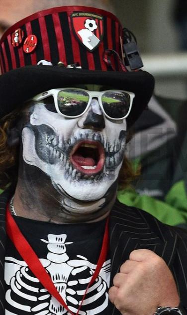 Bournemouth Fans Halloween Spirit