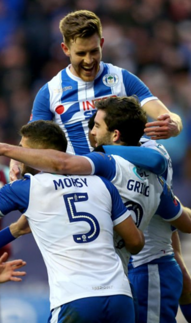 Will Grigg Celebration