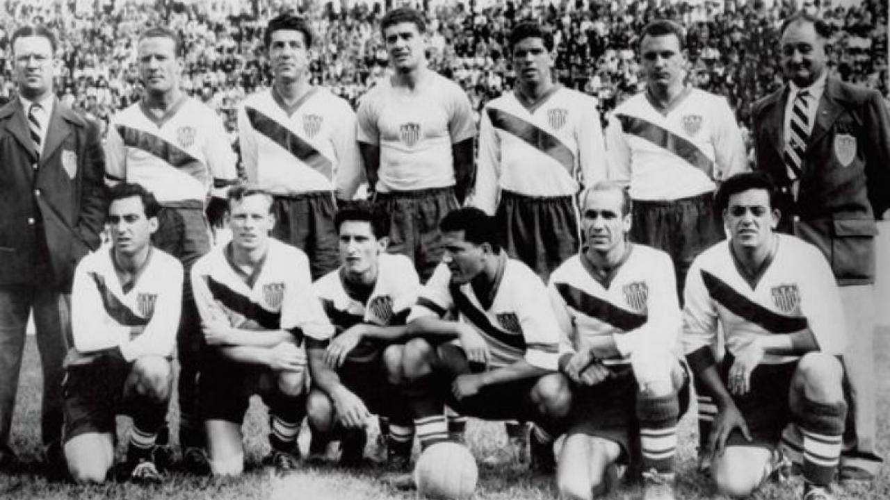 The 1950 USA squad