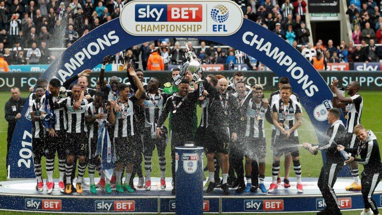 Newcastle FC Win The Sky BET Championship