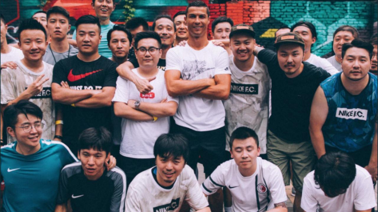 Cristiano Ronaldo in China