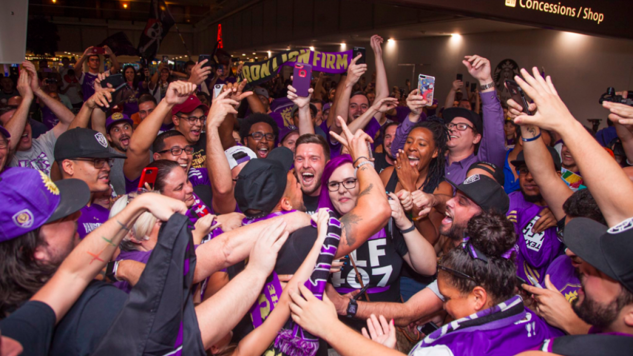 Dom Dwyer Welcome In Orlando