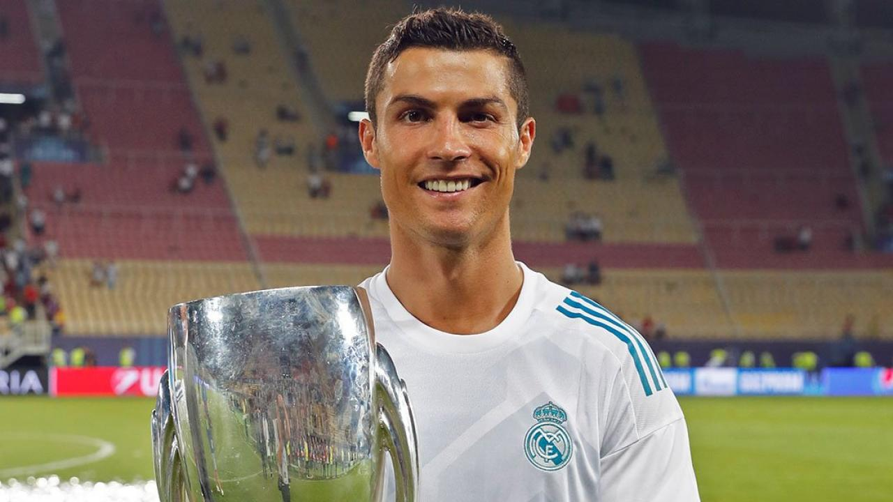 Cristiano Ronaldo UEFA Super Cup