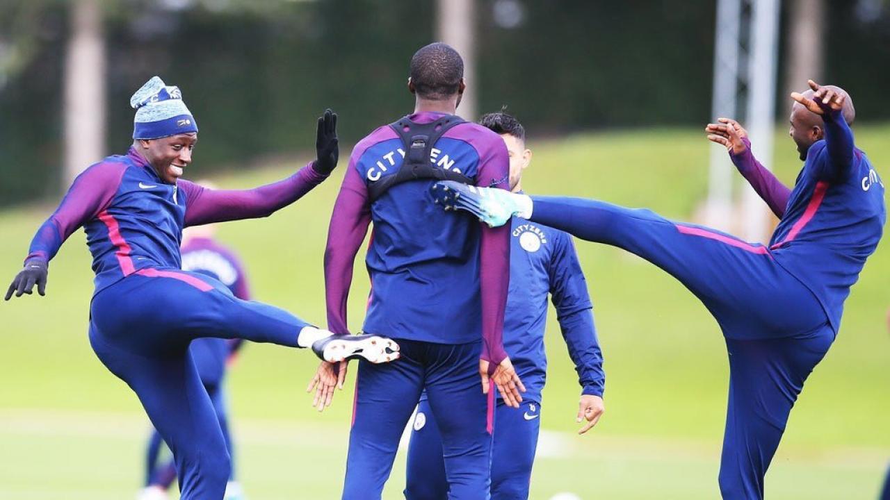 Yaya Toure Manchester City Training
