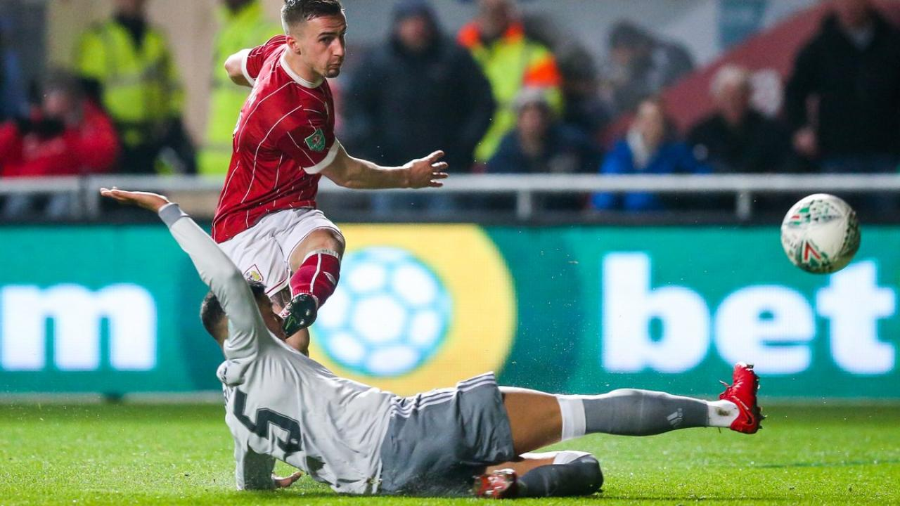 Bristol City FC Beat Manchester United In Carabao Cup