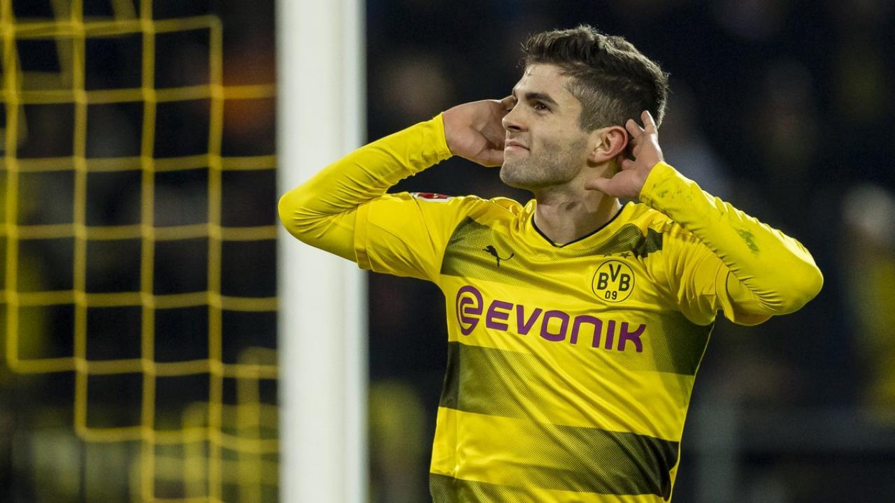 Christian Pulisic Bundesliga Goal of the Month