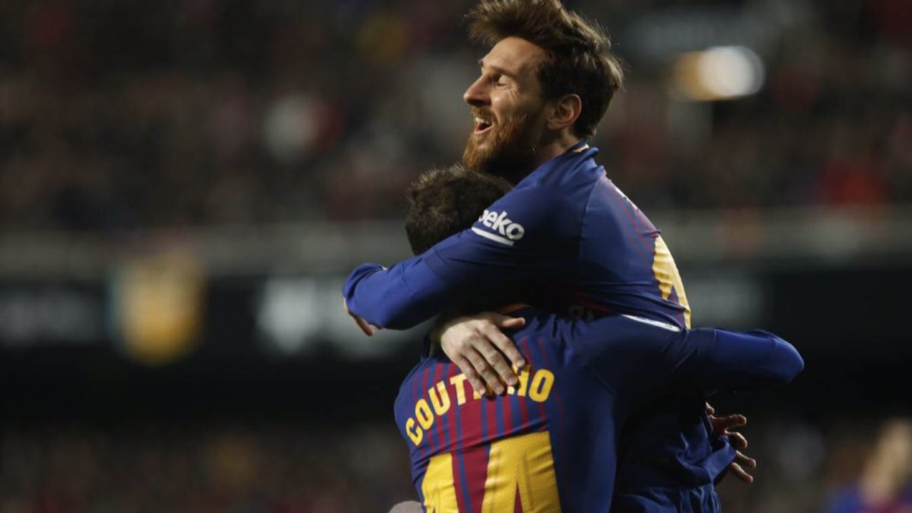 Messi And Coutinho