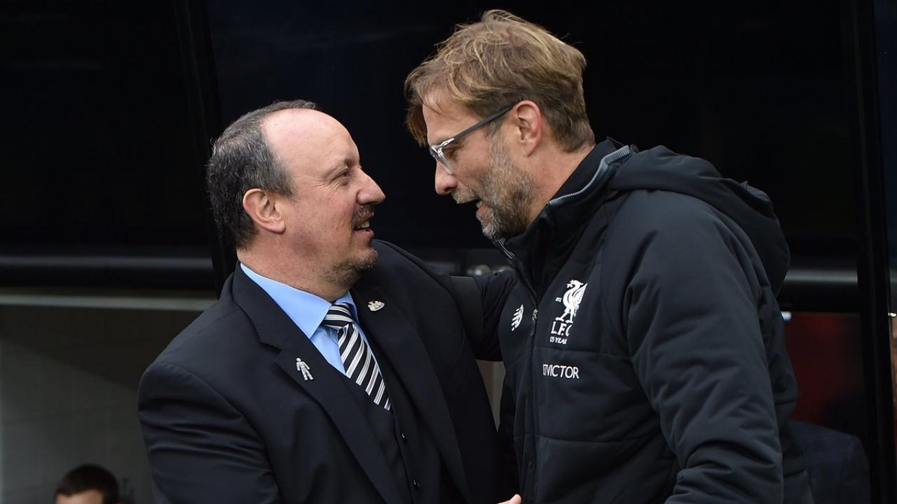 Rafa Benitez and Jurgen Klopp