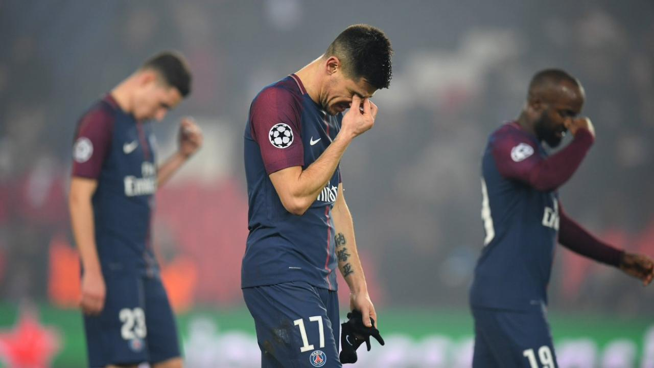 Paris Saint Germain Knocked Out Of Champions League