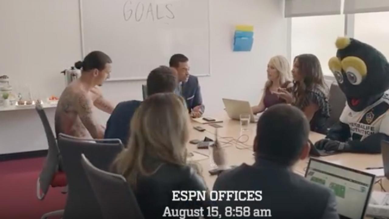 Zlatan Ibrahimovic This is SportsCenter