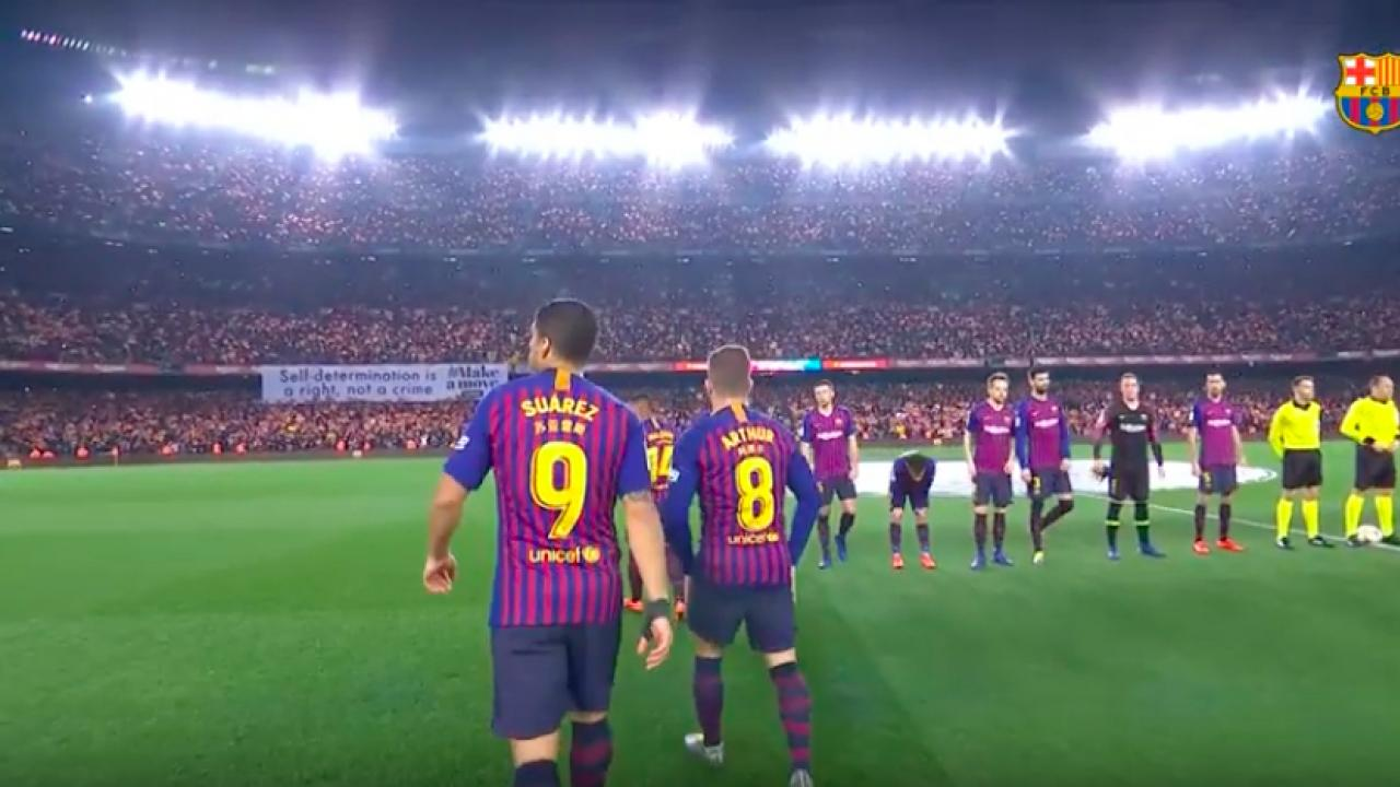 Barcelona Anthem Lyrics