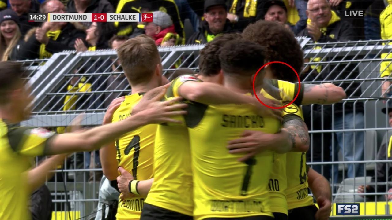 Sancho vs Schalke