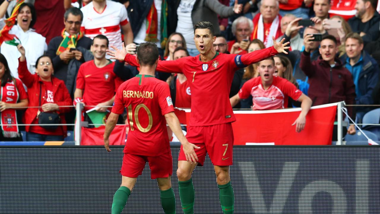 Ronaldo Free Kick vs Switzerland