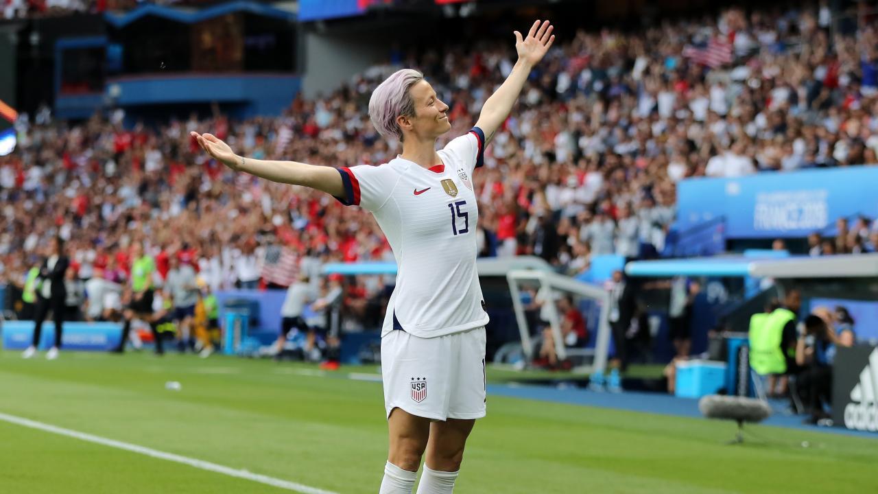 Megan Rapinoe Goal vs France