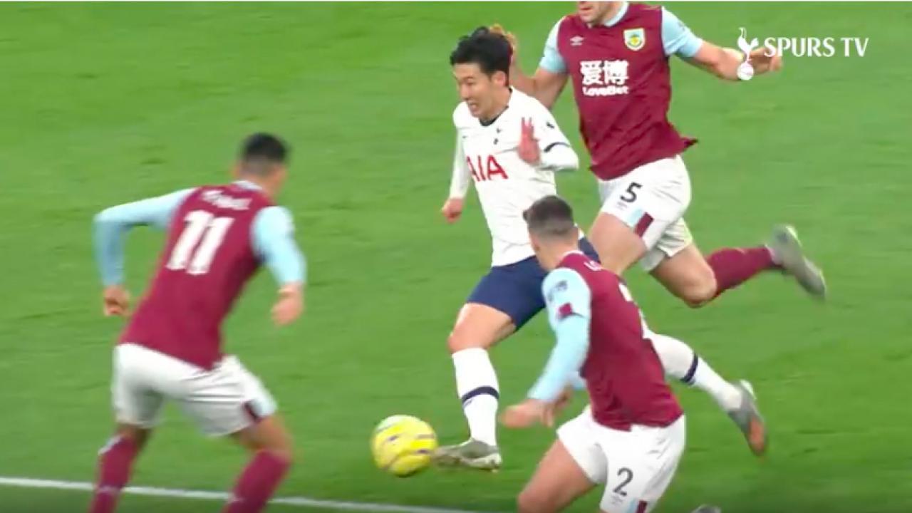 Son goal vs Burnley
