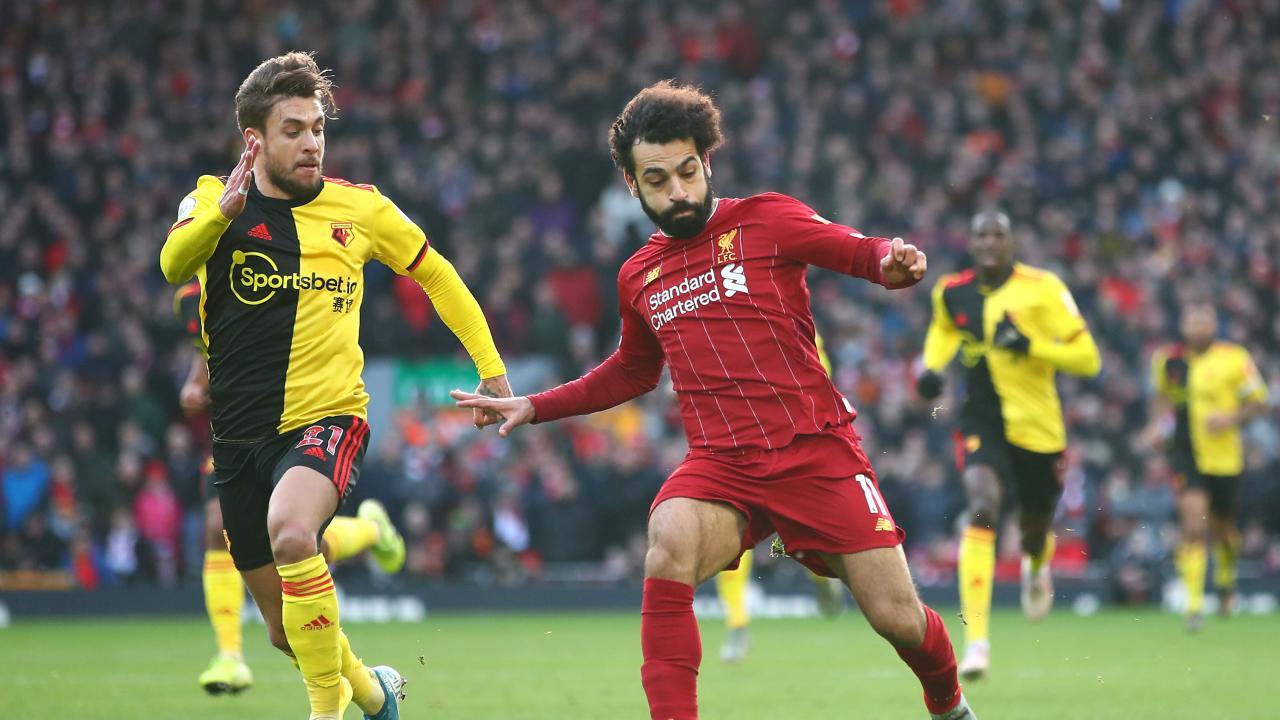 Mo Salah Goal vs Watford