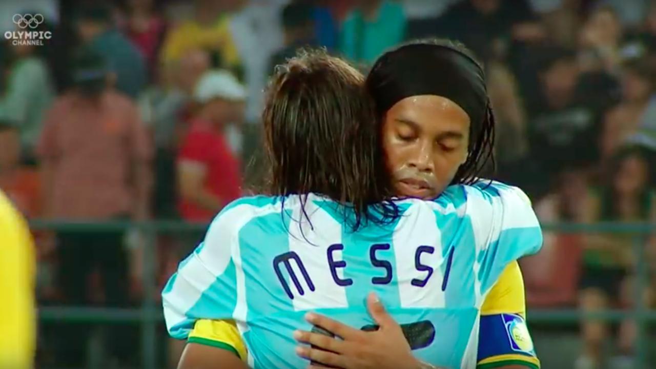 Lionel Messi Olympics 2008