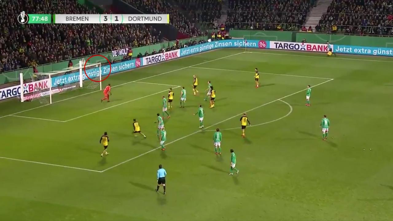 Gio Reyna Goal vs Werder Bremen