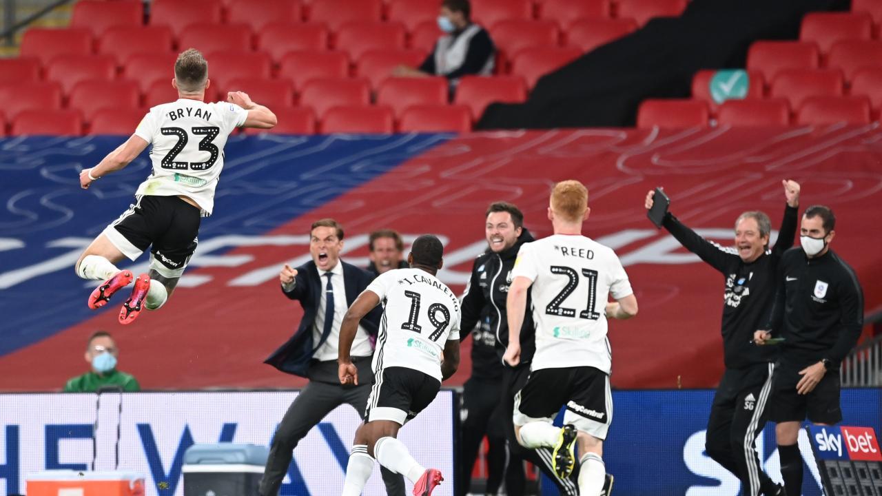Fulham Free Kick Goal vs Brentford