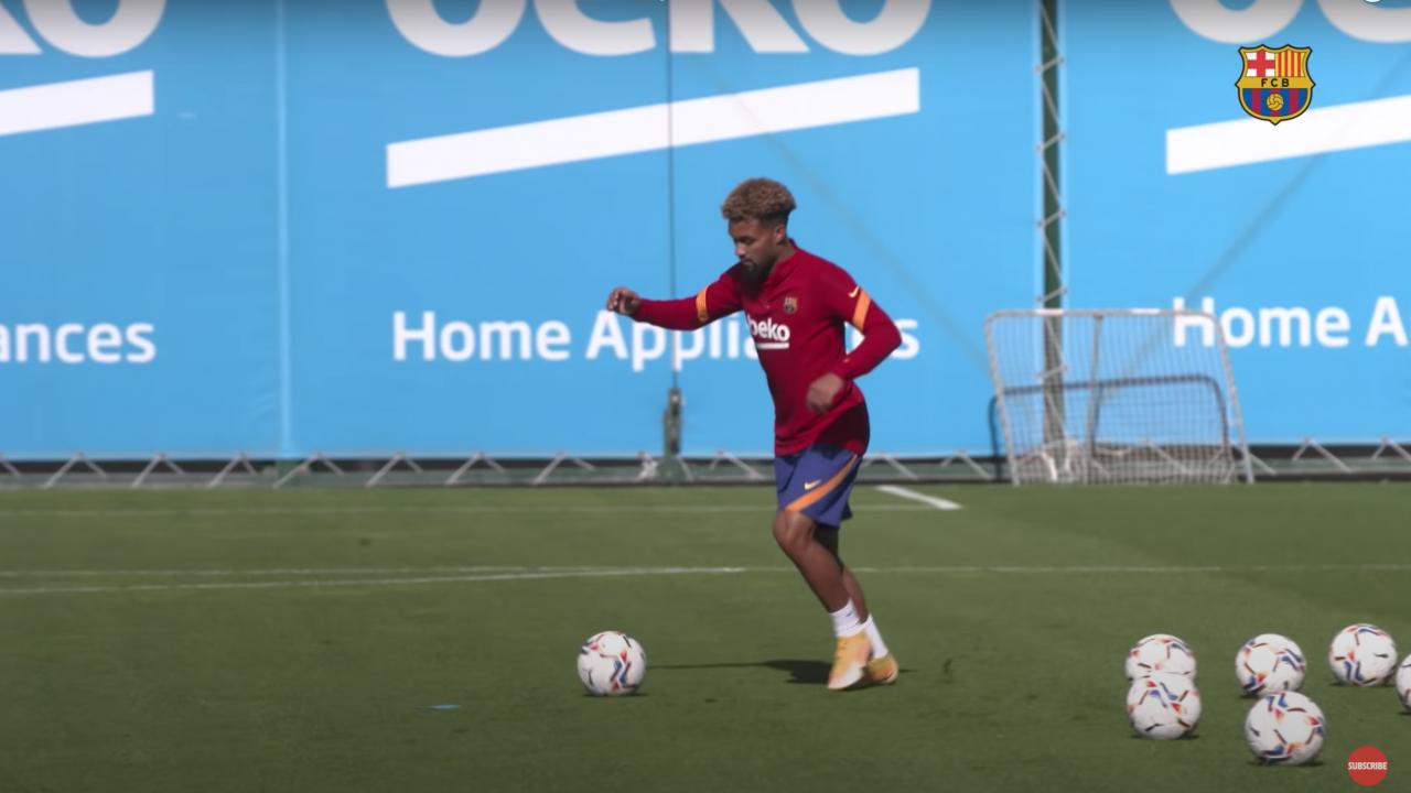 Barcelona Training Videos With Dest, Konrad