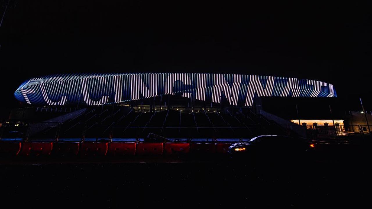 FC Cincinnati Stadium West End Stadium