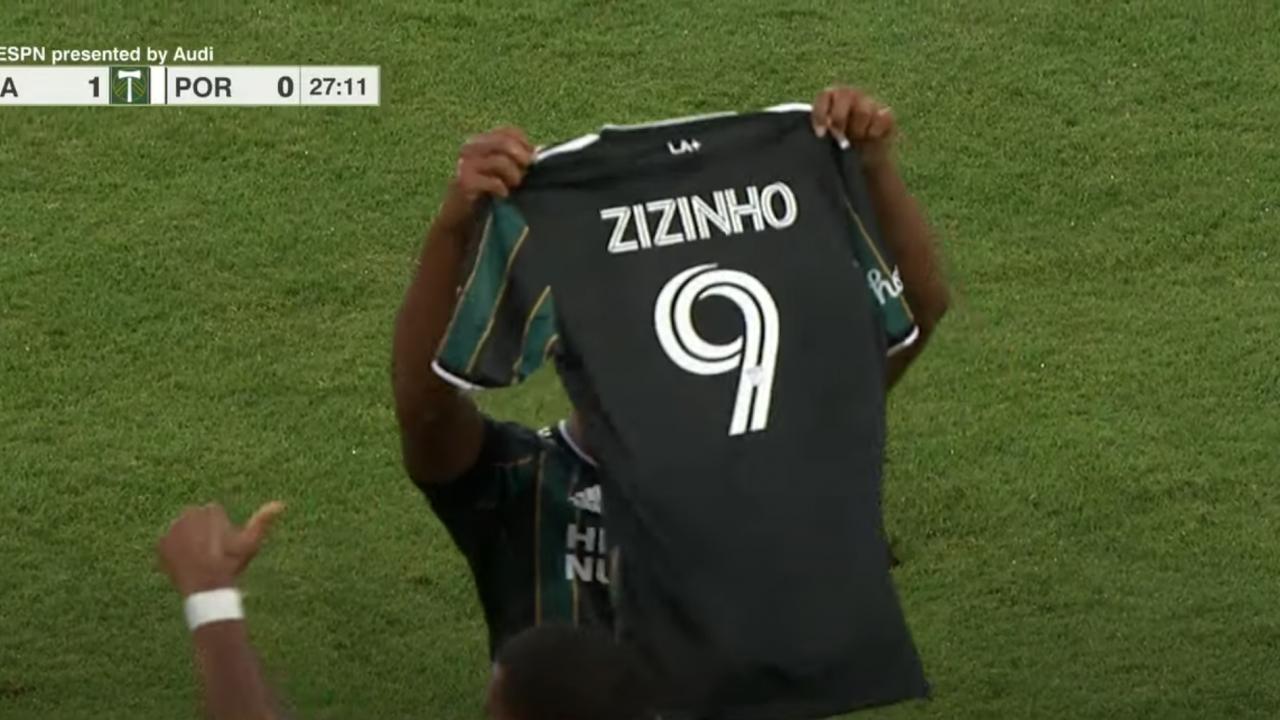 LA Galaxy Zizinho Tribute