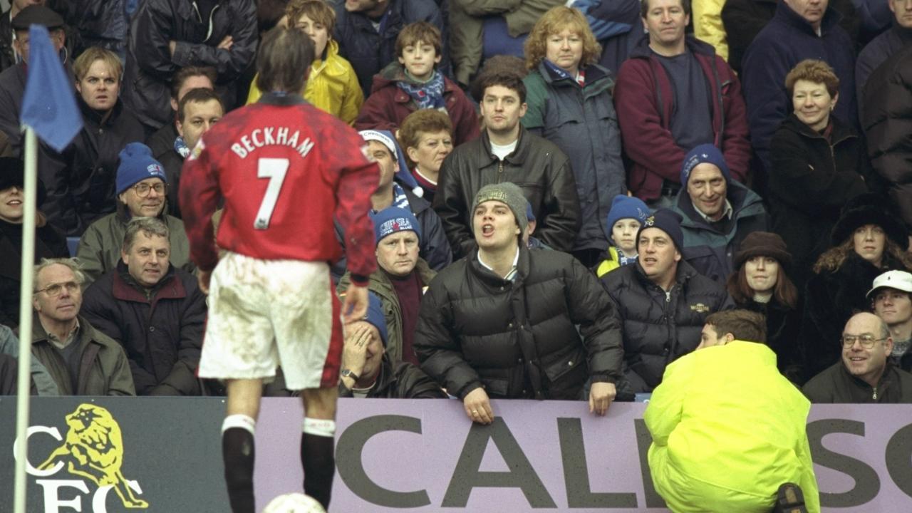 David Beckham red card World Cup