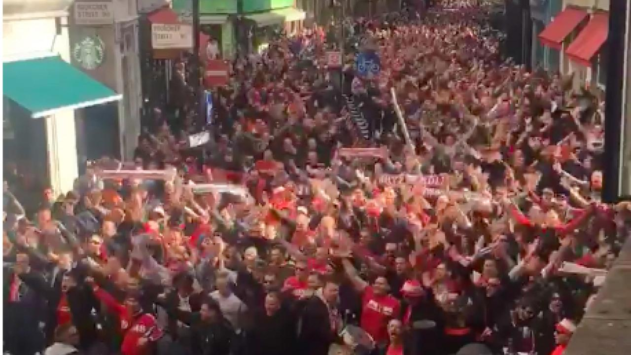 FC Cologne fans in London