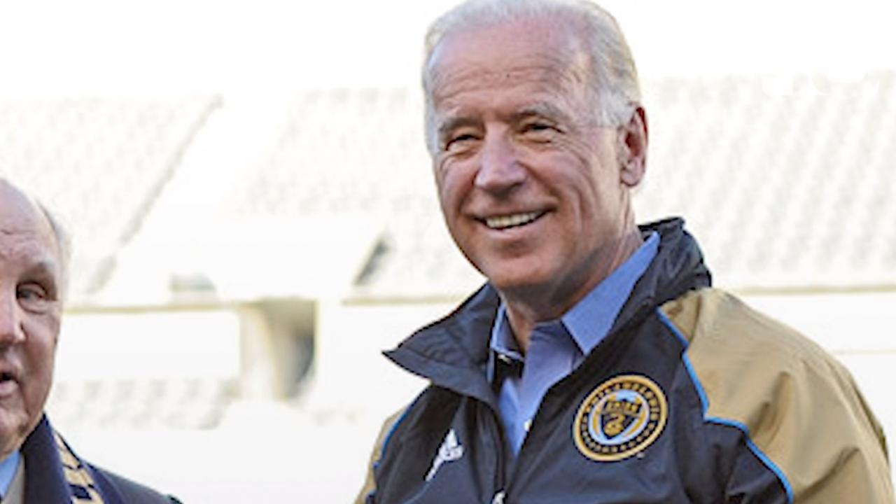 Joe Biden is a soccer fan
