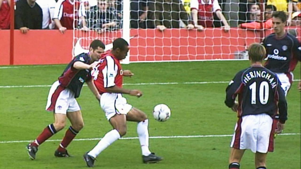 Image result for henry manchester united goal
