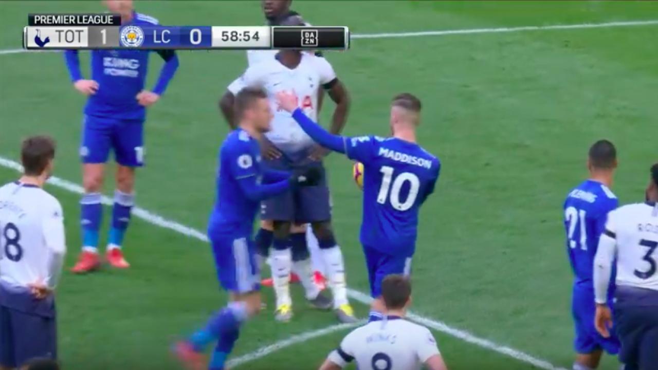 Vardy Penalty vs Spurs