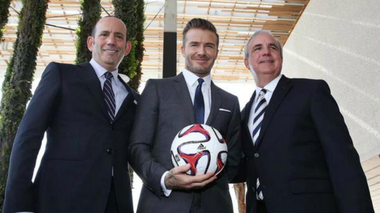 Becks and his partners secure a new stadium