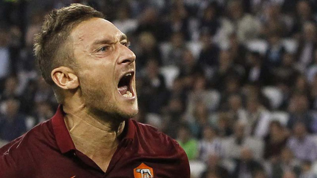 Francesco Totti Is Mad As Hell And He s Not Going To Take This