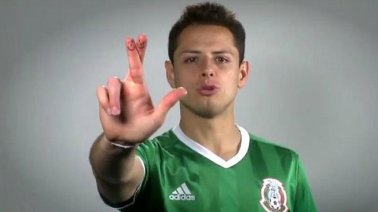 Chicharito Is Leading A Campaign To Stop The 'Puto' Chant