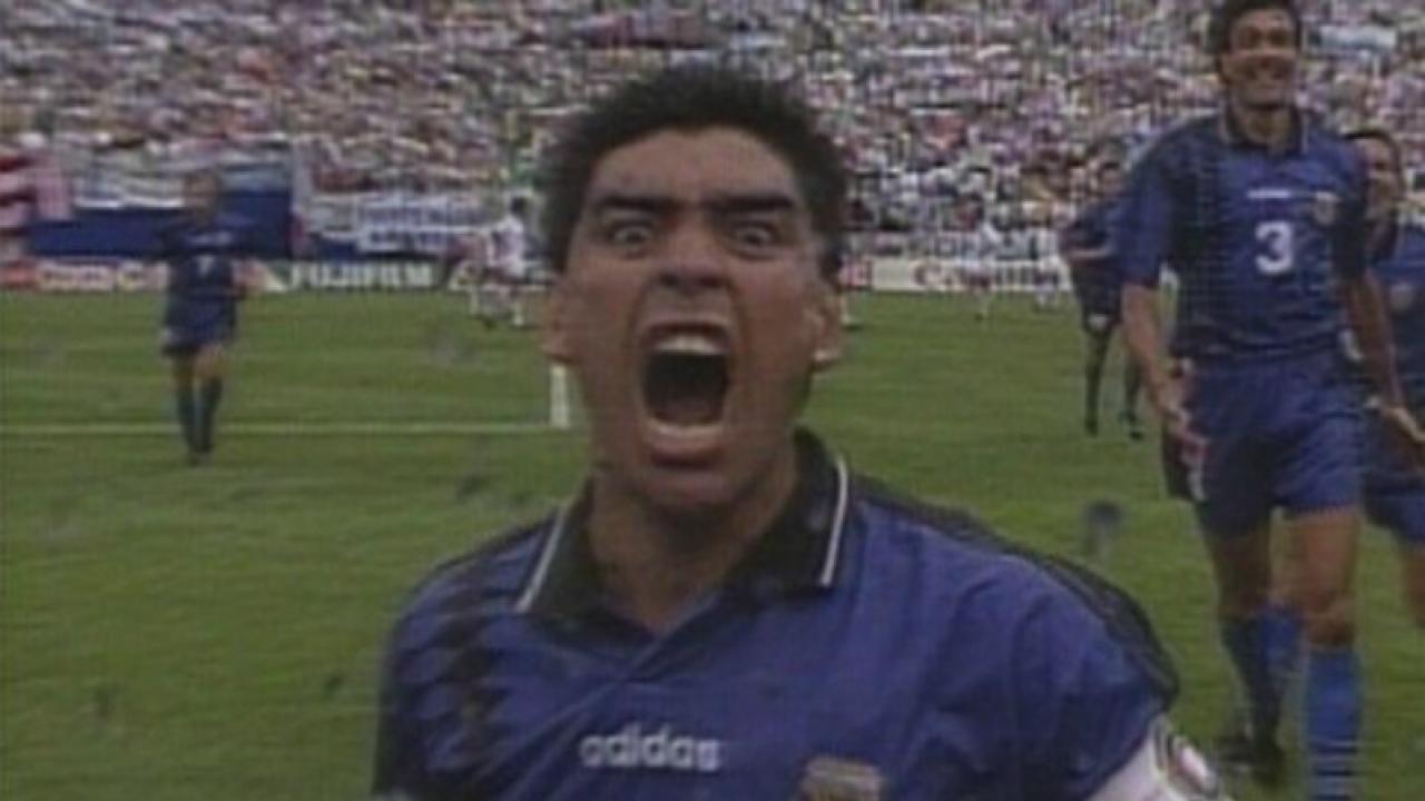 Diego Maradona's Cocaine Hat-Trick