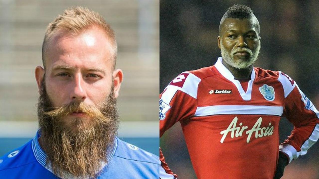 best beards in soccer