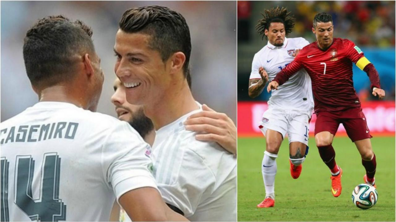 jermaine jones on ronaldo s work ethic he s ridiculous jermaine jones admires ronaldo