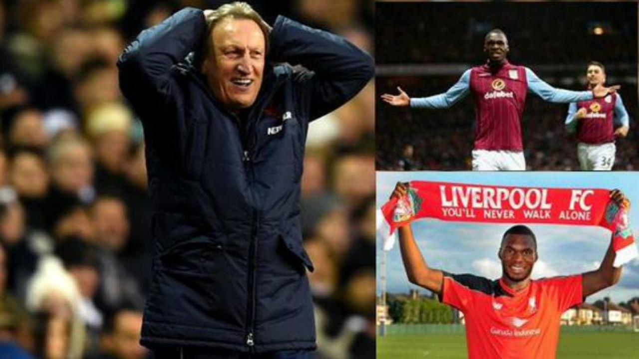 Neil Warnock Thinks Christian Benteke Still plays For Aston Villa