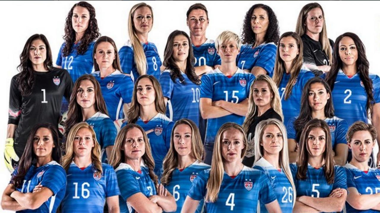 23 players 23 stories meet the uswnt the18 the uswnt team photo publicscrutiny Image collections