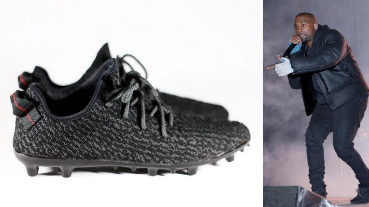 """Yeezy Ace: a pair of """"pirate black"""" adidas Yeezy Boost 350s"""