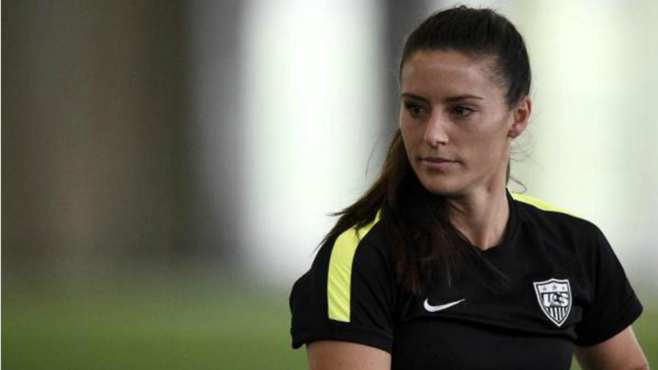 Ali Krieger will pose for the ESPN The Magazine Body Issue.