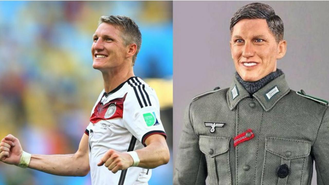 Bastian Schweinsteiger Nazi doll