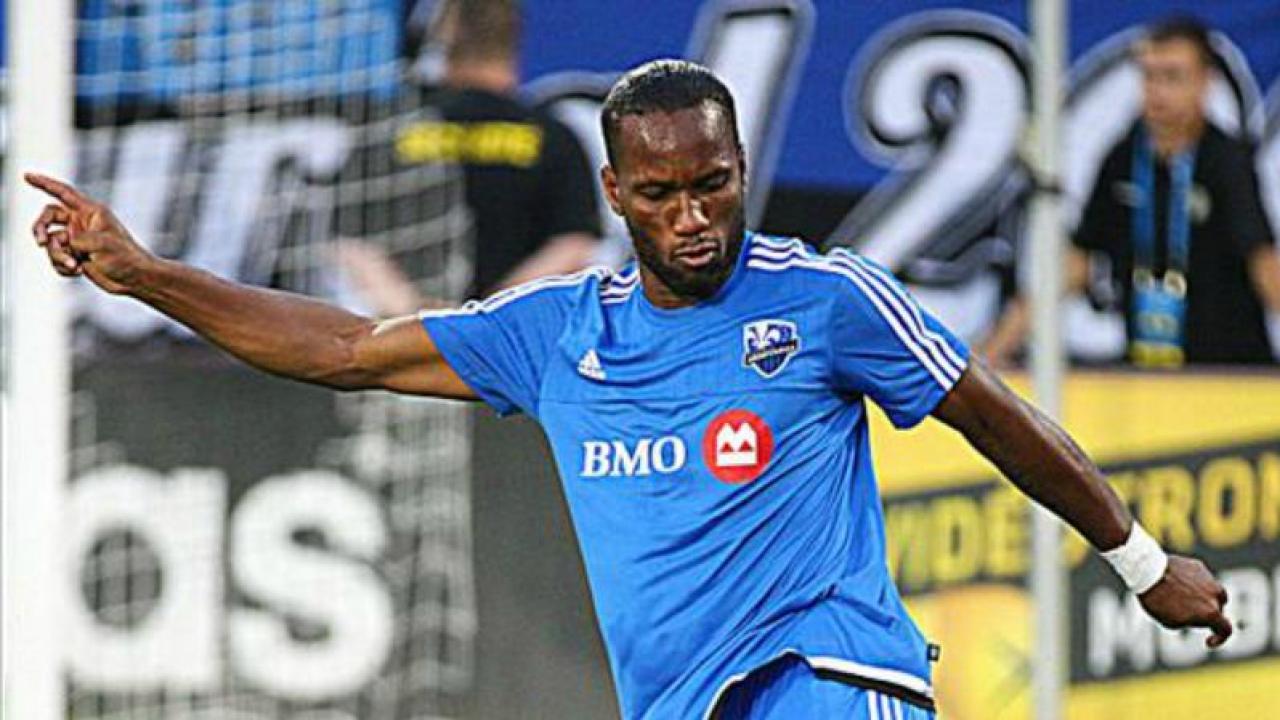 Video Di r Drogba Scored A Hat Trick In His First MLS Start
