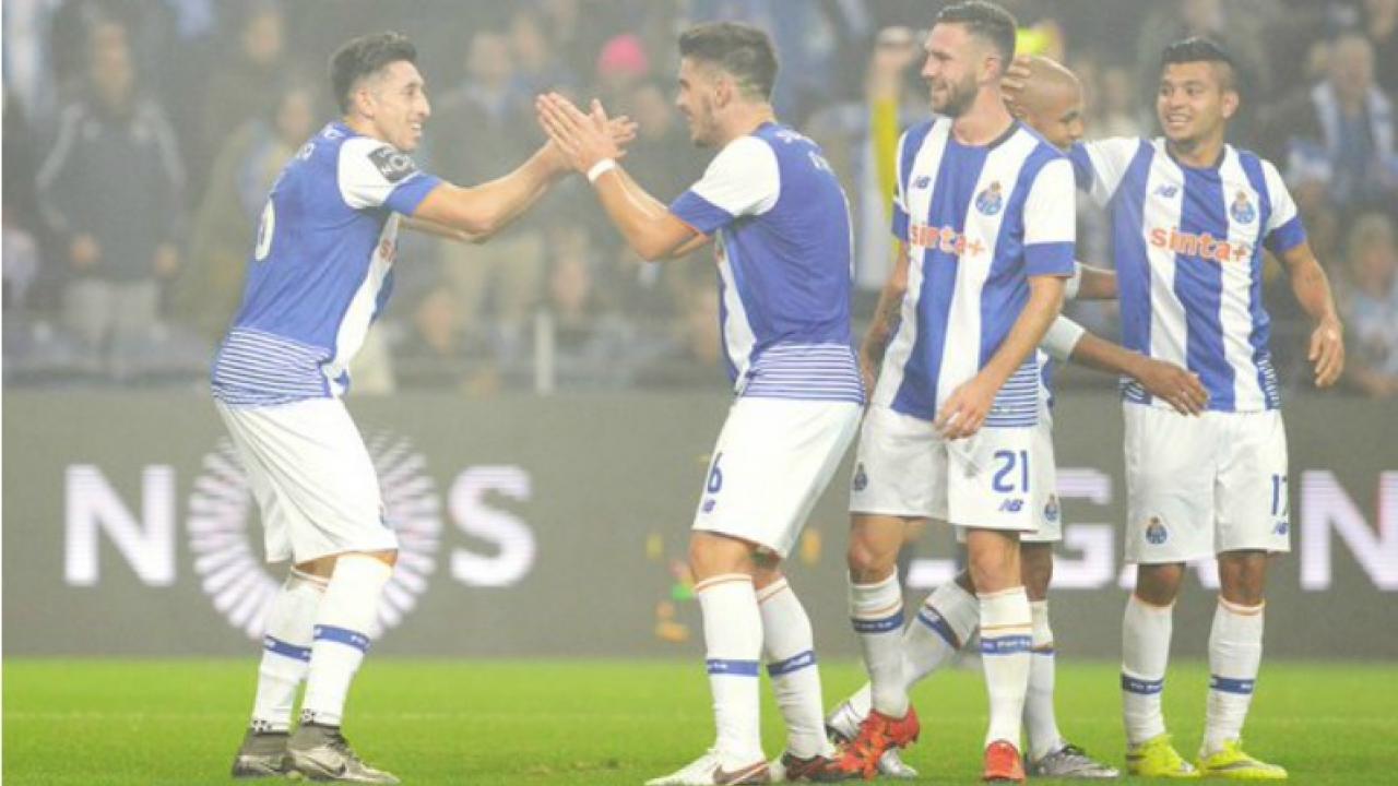 Hector Herrera Scored A Zlatan esque Flick Goal